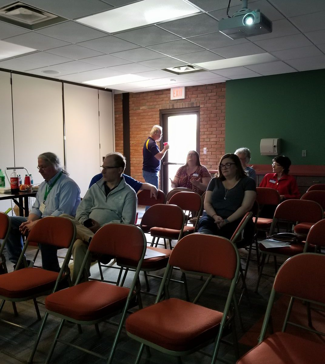Nice Crowd at first meeting